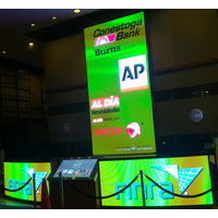 RADIANT LED curved indoor P4 flex LED screen for exhibition