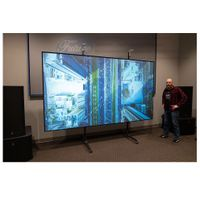 First half year 2020 Best sales pet crystal aluminium frame clr projection screen thumbnail image