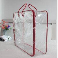 clear pvc blanket bag