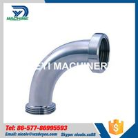 Stainless Steel Sanitary Threading Bend Elbow thumbnail image