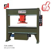 JS-xcll3-250 Hydraulic travelling-head leather cutting press