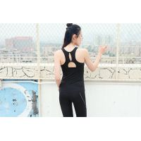 high quality women sports vest gym singlet sleeveless shirt for girl yoga shirt