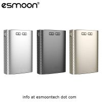 Wholesale NEW Temp Control Vape Mod Huge Vapor Triple Battery Esmoon AB 150W