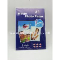 105g single-side matte photo paper for inkjet printer