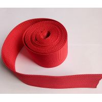 Woven Polyester Nylon Webbing For Plastic pipes , Hollow Polyester Webbing Protective Sleeving