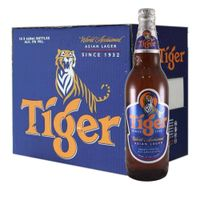 Tiger Asian Lager Beer 640ml Bottles thumbnail image