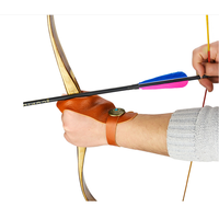 LOST WANDERER Bow and arrow archery equipment with hanging bow practice finger
