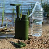 Portable water purifier/Outdoor drink water filter+multifuction F Explorer/army/travel/expeditioner