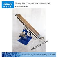 sida factory mini dry ice block maker machine with cylinder holder thumbnail image
