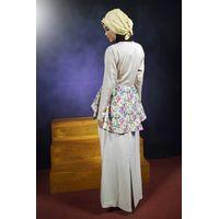Baju Kurung Peplum Abaya