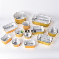 Lacquered Gold Aluminum Foil Food Containers thumbnail image