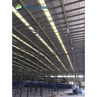 20ft 6100mm big HVLS industrial warehouse factory DC ceiling fan manufacturer