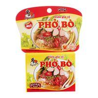 Vietnam rice noodles beef spice cubes