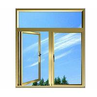 Fashionable exterior aluminum door with flat open thumbnail image