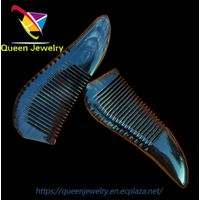 mid fade comb over Natural Ox Horn combs for healthy hairdressing thumbnail image
