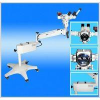 colposcope with optic microscope