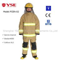 Anti Aramid material Fire Fighting suit