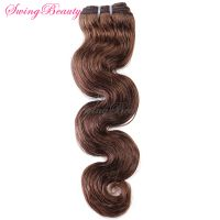 "Indian Virgin Human Hair Weft Body Wave 12""-30"" In Stock"