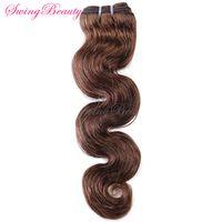 "Indian Virgin Human Hair Weft Body Wave 12""-30"" In Stock"