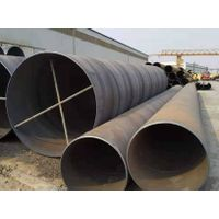Large Diameter Spiral Steel Pipe SSAW Steel PipeCarbon Steel Seamless Line pipe
