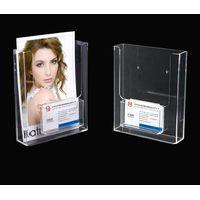 wall mount clear acrylic brochure holders