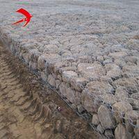 gabion bask & PVC coated stone cage netting 2.7mm gabion box for dam protection small gabion baskets
