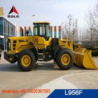 SDLG the best quality 5T wheel loader L956F for sale