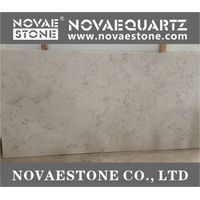 NV901 Bianco Carrara Quartz Slab