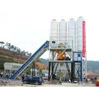 belt conveyor concrete mixing plant HZS series thumbnail image