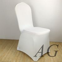 Universal Polyester Spandex Banquet Wedding Party Chair Covers thumbnail image