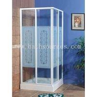 acrylic door shower room plexiglass shower enclosure shower screen never explodes-oneself