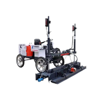 Four wheels Concrete Ride on Laser Screed Machine