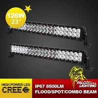 "New Combo Beam 23"" 126W Cree LED Light Bar for Auto ATVS UTV Offroad 4X4 Racing"