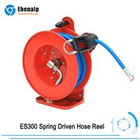 15M ES300 Spring Driven Hose Reel with Hose for Industry