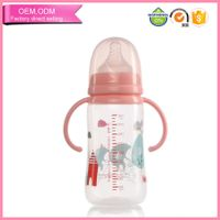 Feeding pp baby bottles 2016 with flexiable handle factoyr price Whoselase