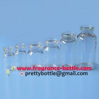 clear glass injection vial, medical bottle for pharmaceutical packaging (PCGV001)