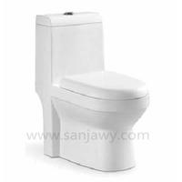 Australian Watermark Certificated Water Ratting one Piece P strap Toilet