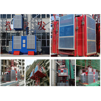 Building construction hoist for material and passenger with high quality