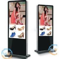 Multi-zone display and slim type 55 inch floor stand indoor lcd advertising player