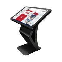 """10-point infrared touch capacitive multi-point touch interactive kiosk with 32""""43""""49""""55""""65""""75"""" touch thumbnail image"""