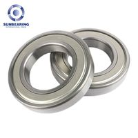 6806 ZZ Deep Groove Ball Bearing 30427mm SUNBEARING
