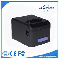 3 Inch/80mm triple interface thermal pos receipt printer