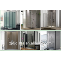 New design shower glass screen and door,tempered glass with 3C/ISO/ CE CSI SGCC thumbnail image