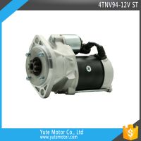 YTM 4TNV94 12V 9T 4.5KW engine starter motor parts wholesale price