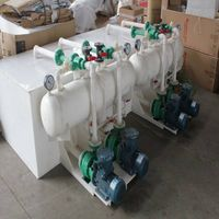 water injection vacuum pump set