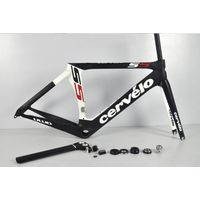 Cervelo S5 Team VWD Full Carbon Fiber Road Bike Frame Fork Seatpost Headset With BBright