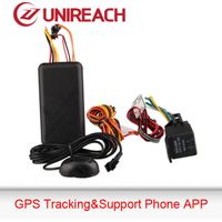 Smartphone appearance easy use GPS car tracker