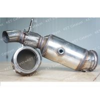 KET bolt on N20 catalytic converter with high flow for exhaust system