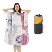 Summer Cap Can Be Worn Swimming Cape Absorbent Quick Dry Beach Towel