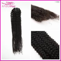 Brazilian Virgin Hair Weaving, Kinky Curly, 8 inch-34 inch,100% human virgin Hair